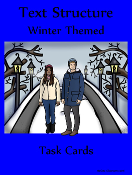 Winter Themed Text Structure for Middle School Students
