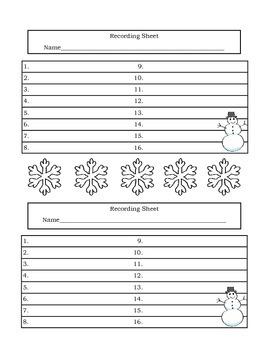Winter Themed Third Grade STAAR Math Practice Task  Cards