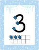 Winter Themed Touch Math Posters