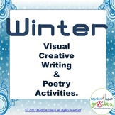 Winter Poetry & Writing Unit – Writing prompts, poetry act
