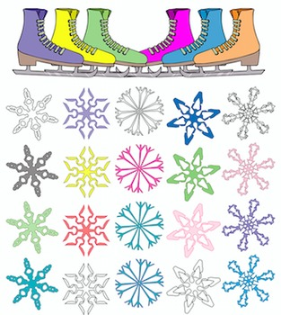 Winter Themed Clipart Pack #1