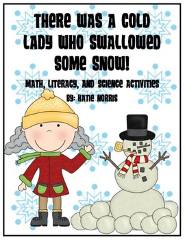Winter-There Was a Cold Lady Who Swallowed Some Snow! Book Activities