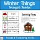 Winter Things Emergent Reader