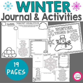 Winter Think Book Student Journal