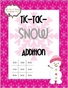 Winter Tic Tac SNOW Freebie--Addition