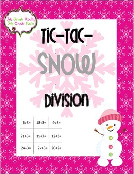 Winter Tic Tac Snow Freebie--Division