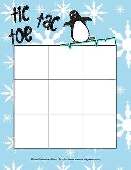 Winter Tic Tac Toe