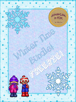 Winter Time Bundle FREEBIE!