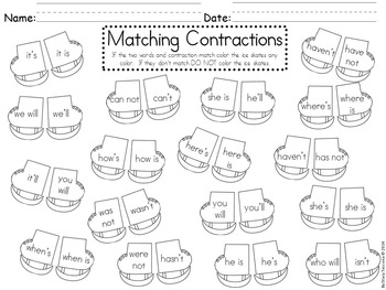Winter Time Contractions