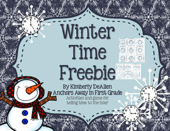 Winter Time Freebie
