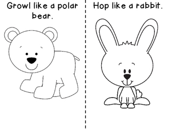 Print and Go! Winter Time Fun Pre-K and K Activities