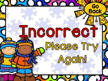 Winter Time Fun Quarter Before the Hour PowerPoint Interactive Game