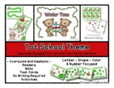 Winter Time - Grow With Me Little Bear Tot School - 1 & 2