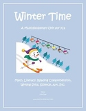 """Winter Time"" Math and Literacy Unit - Aligned with Common"