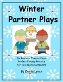 Winter Partner Readers' Theater Plays with Corresponding Puppets!