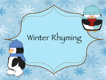 Winter Time Rhyme