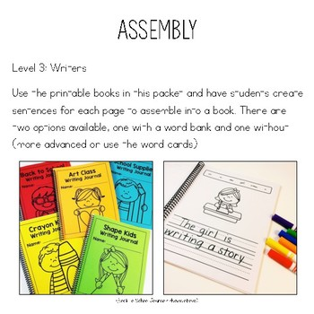 Winter Time Sentence Builders {Writing, Language, & Comprehension Practice}