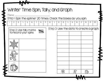 Winter Time Spin, Tally, and Graph