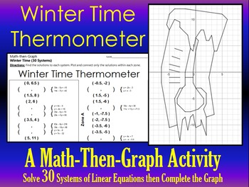 Winter Time Thermometer - A 30 Systems and Coordinate Grap