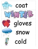 Winter Time Words