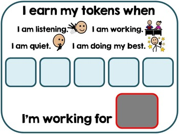 Winter Token Economy Behavior Management System (Special Education & Autism)