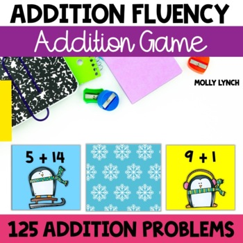 Winter Top It {Addition}