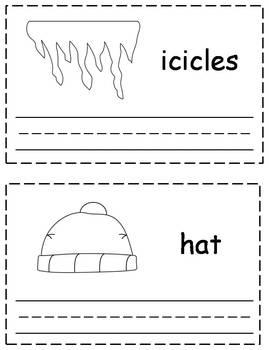 Winter Trace & Write Book