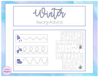 Winter Tracing Activity
