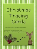 Winter Tracing Cards