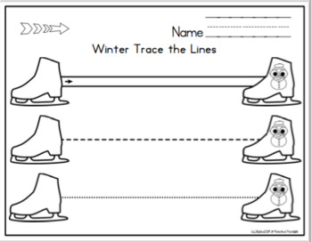 Winter Tracing Lines for Centers