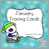 Winter Tracing Task Cards