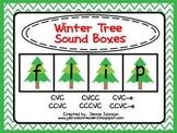 Winter Tree Christmas Sound Boxes FREEBIE