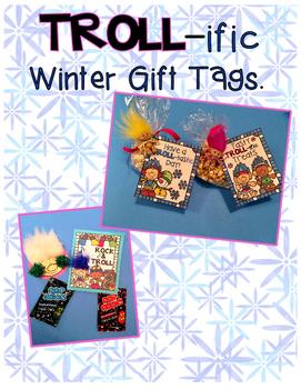 Winter Troll Gift Tag Set