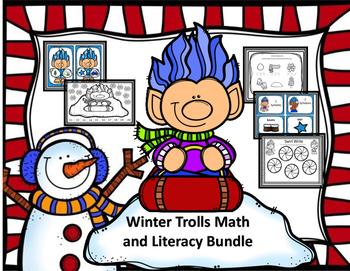 Winter Trolls Math and Literacy Bundle