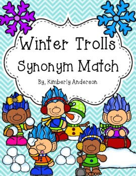 Winter Trolls Synonyms Match
