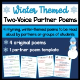 Winter Two Voice Partner Poems