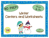 Winter Seasons Worksheets Activities Games Printables and More