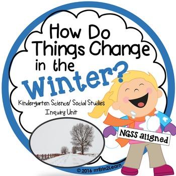 Winter Unit Kindergarten Science Social Studies