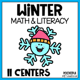 Winter Centers: Math & Literacy Activities for Pre-K & Kindergarten BUNDLE