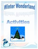 Winter Unit - Winter Wonderland Activties