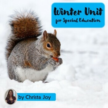 Winter Unit for Special Education with complete lesson plans