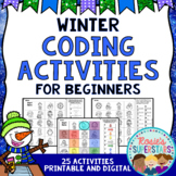 Winter Unplugged Coding for Beginners Great for Hour of Code™