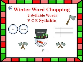 Winter VCE Syllables