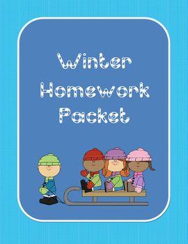 Winter Vacation Homework