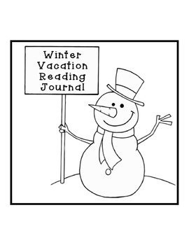 Winter Vacation Reading Journal
