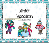 Winter Vacation Reading and Writing Packet