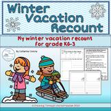 Winter Vacation Recount Grade KG-3