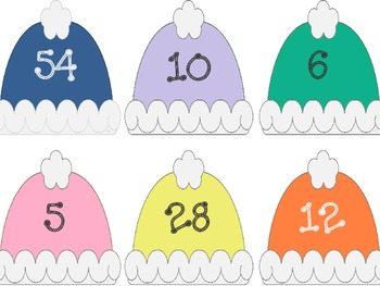 Winter Variables Freebie: Multiplication and Division