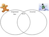Winter Venn Diagram for Students with Autism