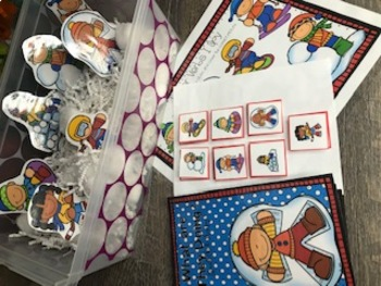 Winter Verb Activities for Speech Therapy